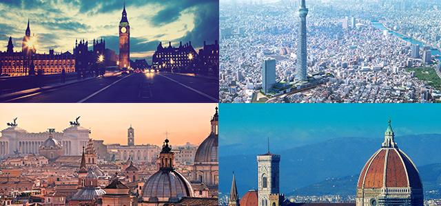 città amate dai turisti