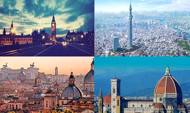 città più amate