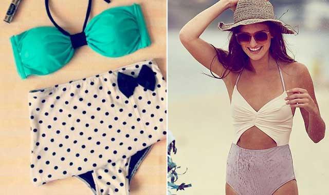 bikini a vita alta