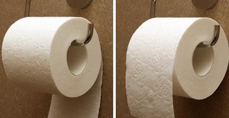 Come si posiziona la carta igienica? Ce lo dice l'inventore