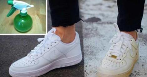 Solo con questo trucco le scarpe bianche ritornano nuove